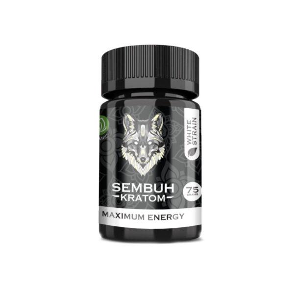 Sembuh Kratom White Strain Powder – Maximum Comfort